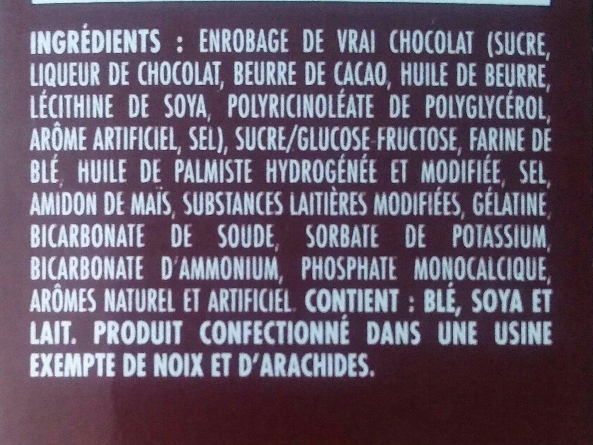 Whippet original - Ingredients - fr