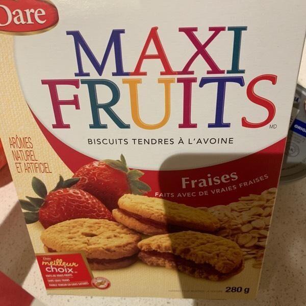 Biscuit avoine fraise - Product - en