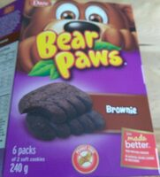 Brownie Bear Paws - Produit - fr