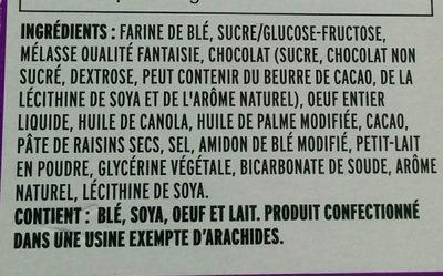 Brownie Bear Paws - Ingrédients - fr