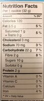 Bear paws strawberries and cereal - Nutrition facts - en