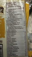 Sunflower flax - Nutrition facts - fr