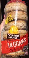 14 grains bagel - Product - fr