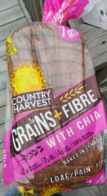 Grains + Fibres with Chia Loaf - Product - en