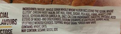 Grains + Fibres with Chia Loaf - Ingredients - en