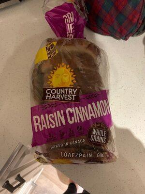 Pain canelle et raisins - Product - es