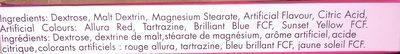 Petits Mots Doux - Ingredients - fr