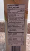 Boisson De Riz Biologique Enrichie Vanille - Informations nutritionnelles - fr