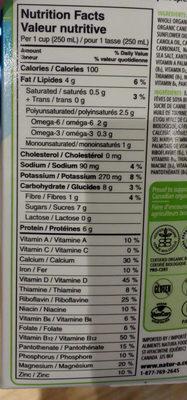 Original - Informations nutritionnelles - fr