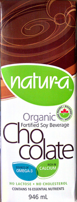 Organic Fortified Soy Beverage - Chocolate - Produit