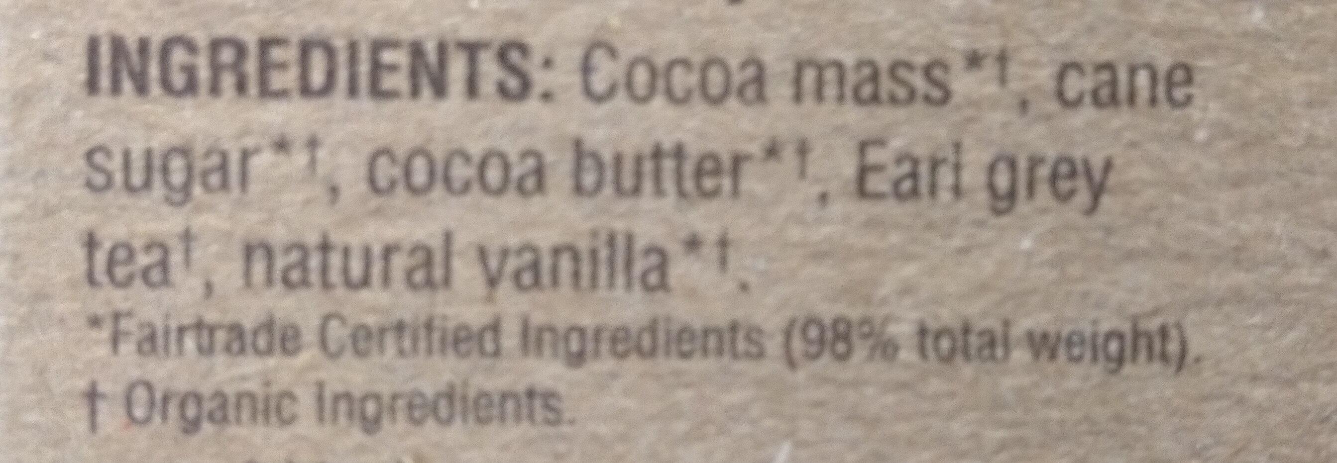 Earl grey - Ingredients - en