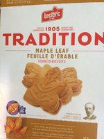 Biscuits Crème Feuille D'érable - Product - fr