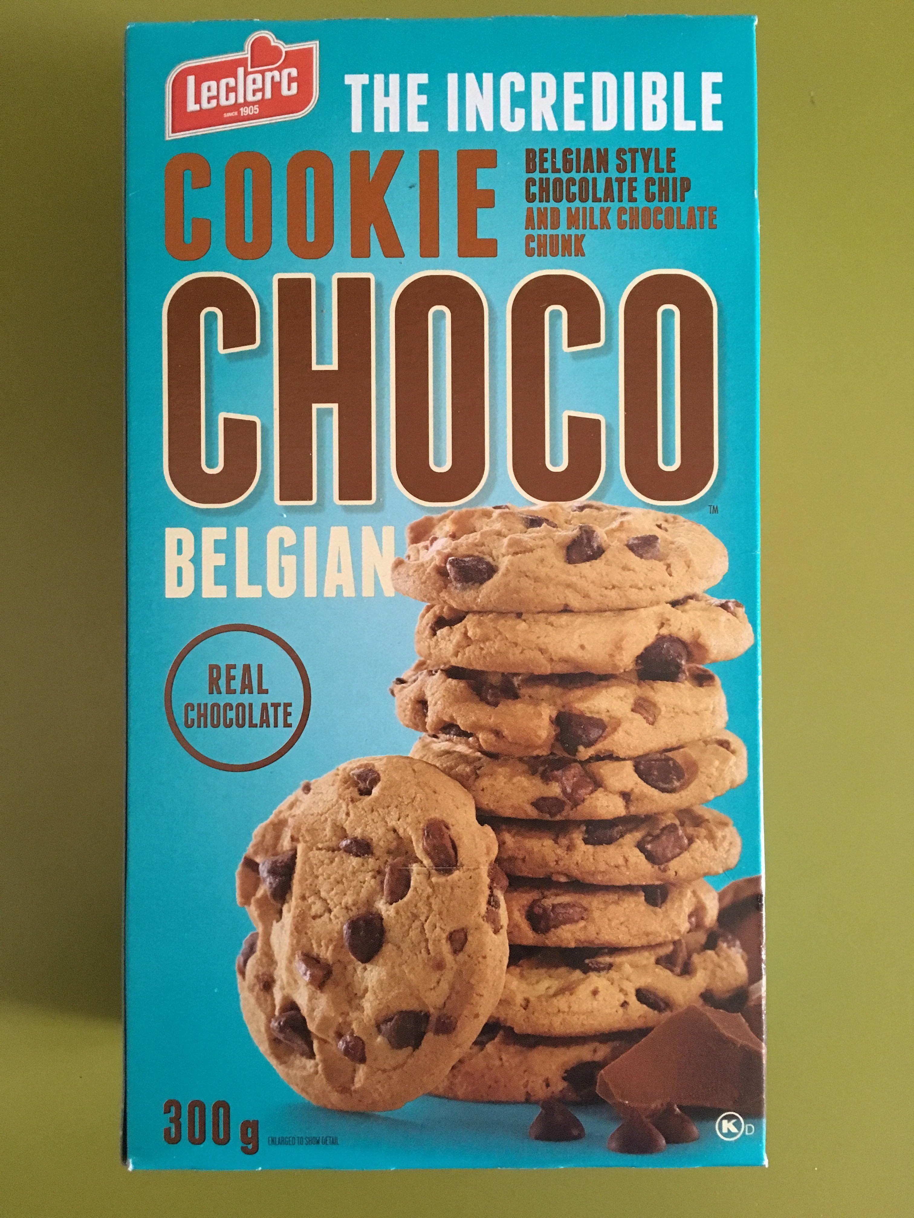 Cookie Choco Belgian - Product - en