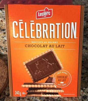 Biscuits Au Beurre Avec Tablette De Chocolat Au Lait - Product - en
