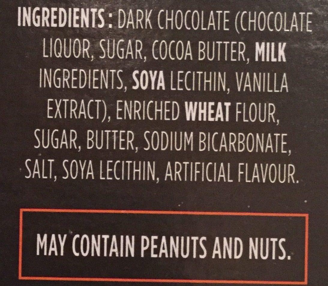Leclerc Celebration Biscuits Au Beurre Chocolat Noir 70% Cacao - Ingredients - en