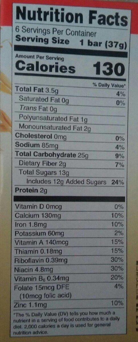 Fruit & Grain Strawberry - Ingredients - en