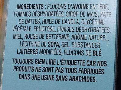 Go pure - Ingredients - fr