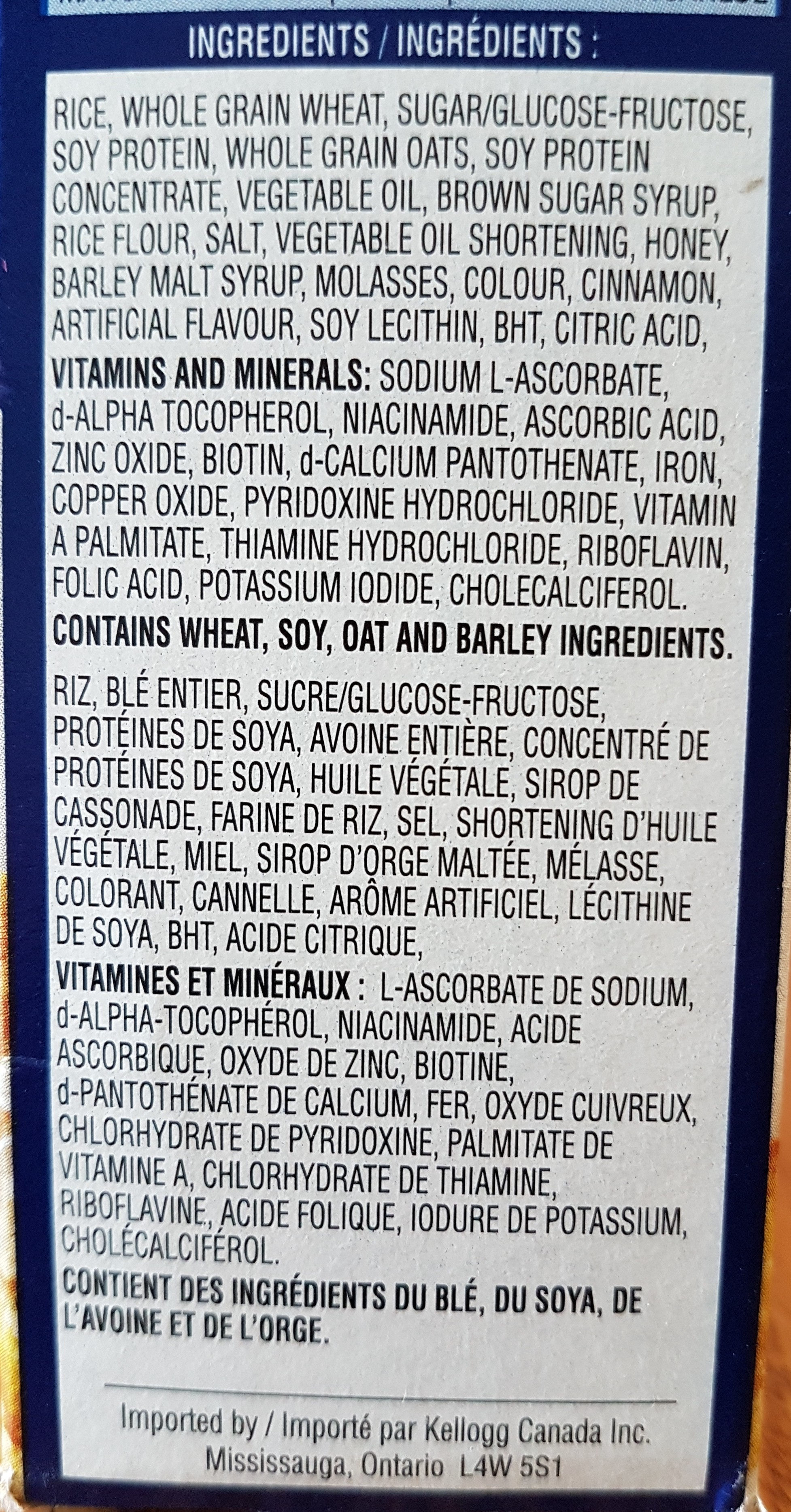 Vector - Ingredients - fr
