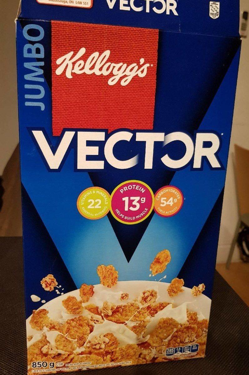 Céréales Vector (flocons Croquants Et Grappes De Granola) - Produit - fr