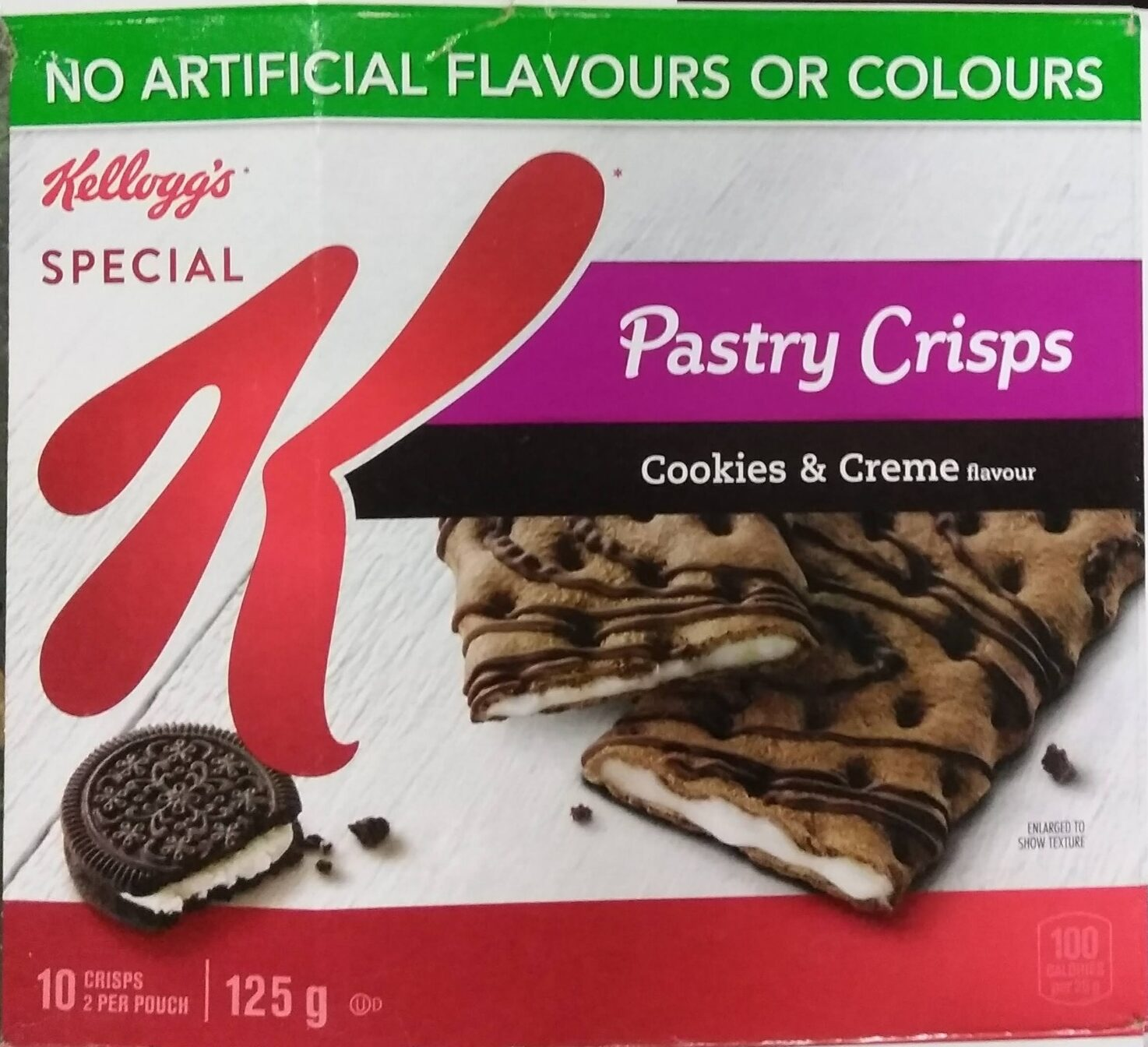 Pastry Crisps Cookies & Creme Flavour - Product