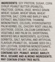 Protein Peanut butter flavor - Ingredients - en