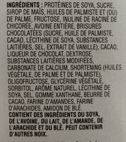 Special K protein - Ingrédients - fr