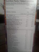 Raisin Bran - Informations nutritionnelles - fr
