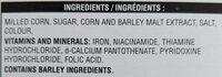 Corn Flakes Céréales - Ingredients - en