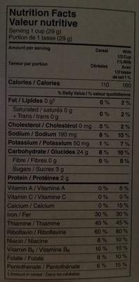 Corn Flakes Céréales - Nutrition facts