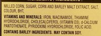 Frosted flakes cereal - Ingredients - en