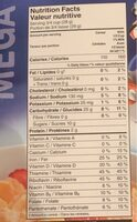 Frosted flakes - Informazioni nutrizionali - fr