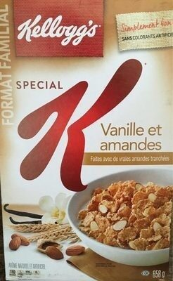 Vanilla Almond Cereal - Produit - fr