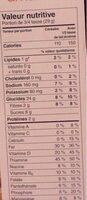 Vanilla Almond Cereal - Informations nutritionnelles - fr