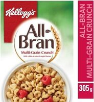 Kellogg's All-bran Multi-grain Crunch Cereal, 305G - Produit - fr