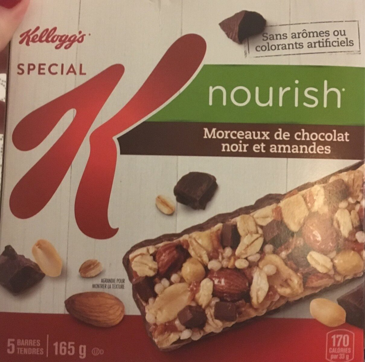 Kelloggs Special K DRK Choc Almnd Bar - Product - fr