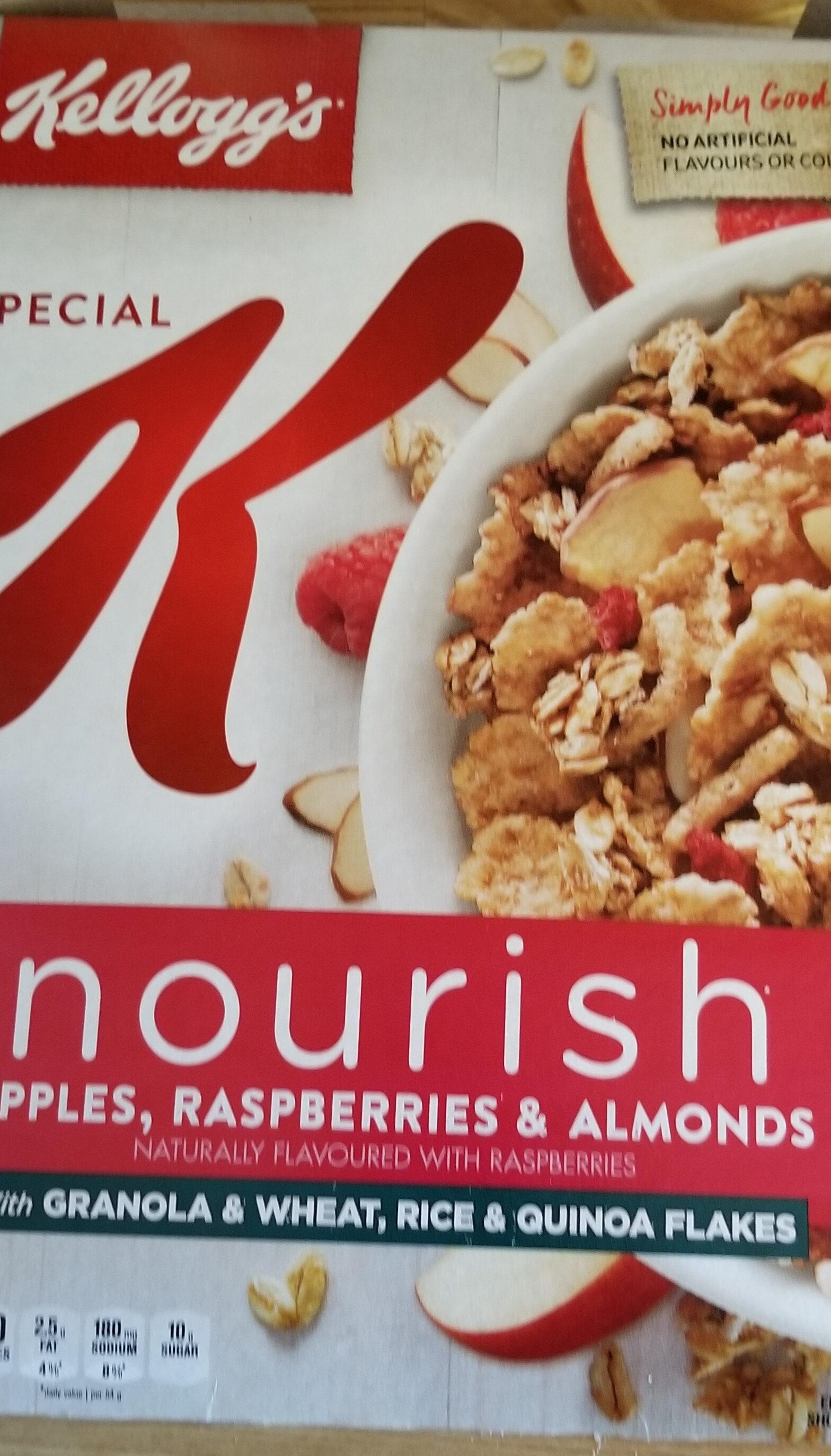 Céréales Pomme Framboise Et Amandes Special K - Product - fr