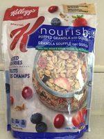 Nourish Popped Granola W / Quinoa Mixed Berries - Produit - fr