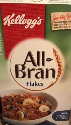 All bran flakes - Produit - fr