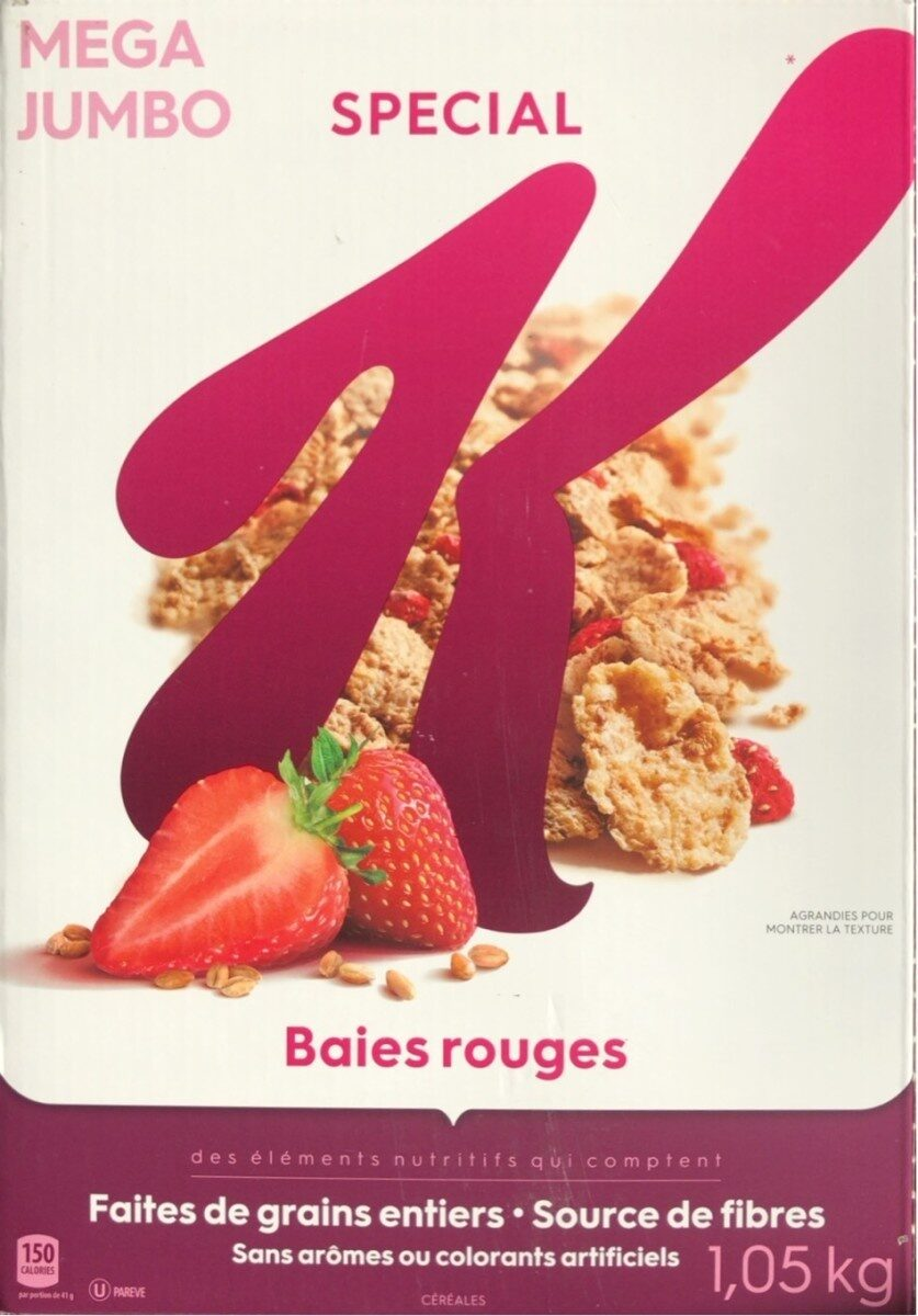 Special K Baies Rouges - Product - fr