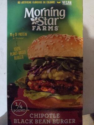 Chipotle Black Bean Burger - Product - en