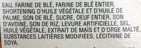 Gaufres Eggo - Ingrédients - fr