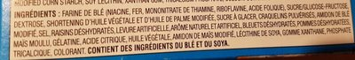 Pop-Tarts Glacées aux Bleuets - Ingredients