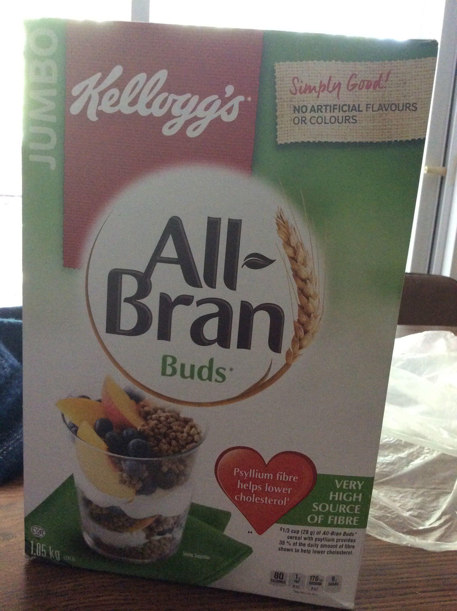 All bran buds jumbo pack - Produkt - fr