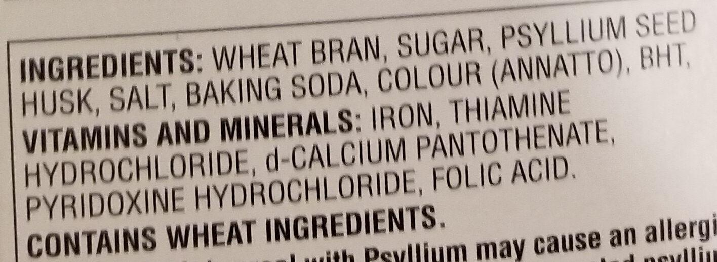 All bran buds jumbo pack - Ingredients - en