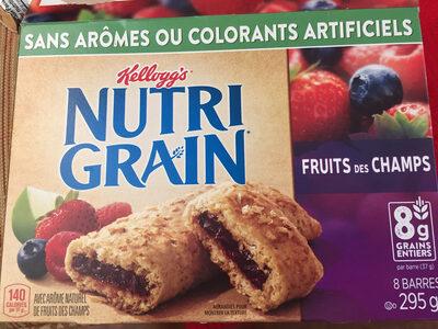 Barres De Céréales Nutri-grain (fruits Des Champs) - Product