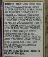Barres De Céréales Nutri-grain (fruits Des Champs) - Ingredients