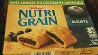Barres De Céréales Nutri-grain (bleuets) - Product - fr
