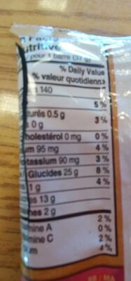 Nutri grain fruit rouge - Informations nutritionnelles - fr