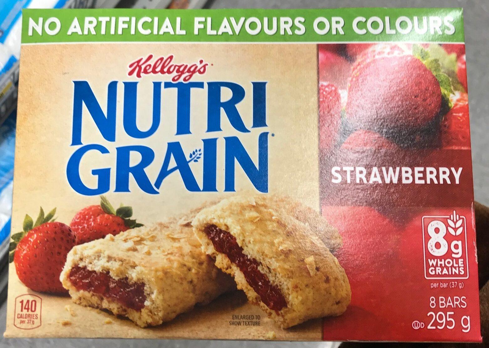 Nutri-grain fraise - Product - fr