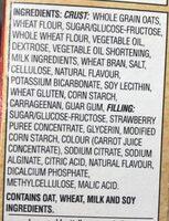 Nutri-grain fraise - Ingredients - en